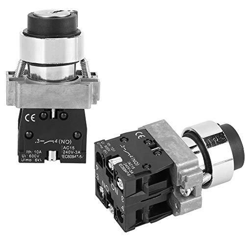 AC240V BEM-XB2-20Y / 33 Interruptor de botón normalmente cerrado 10pcs, 6kV ABS Hecho 10A AC240V
