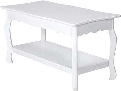 IKEA.. 103.514.41 Lunnarp - Mesa de café, Color Blanco ...