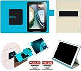 Hülle für Lenovo IdeaTab A1000 Tasche Cover Case Bumper | in Beige | Testsieger