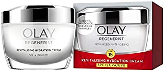 Olay Regenerist Advanced Anti-Ageing Revitalising Hydration Skin Cream, SPF 15, 50 g