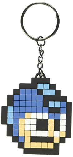 Megaman - llaveros de goma 6cm Pixel...