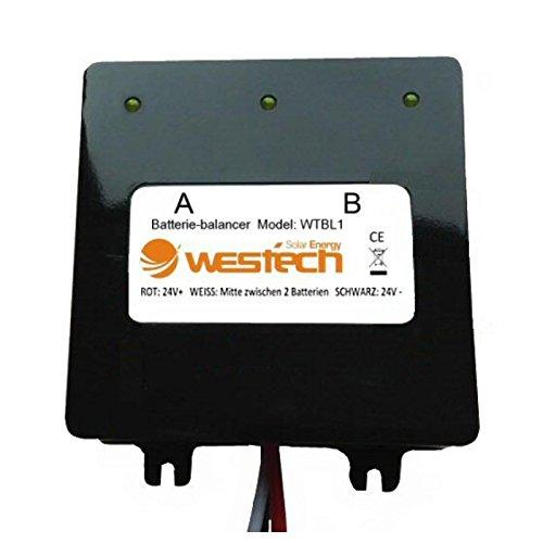 Westech Batterie-Balancer Ladungsausgleicher 12V 24V 48V