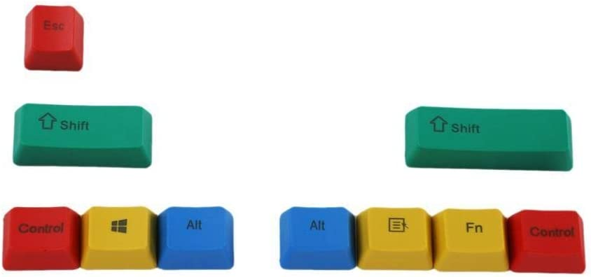 ZEFS--ESD Keycaps latest Profile PBT Keys Ranking TOP11 Modifiers Engraved 10