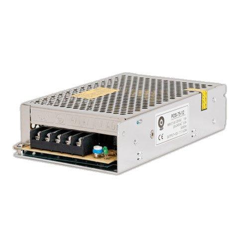 POS Professionelles Schaltnetzteil LED Trafo 12V DC 6,25A 75W, Konstantspannung, CE, Schutzarten: Kurzschlussschutz, Überspannungsschutz. Für LED Produkte 12V DC