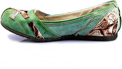 TMA 5088 Damen Ballerina grün - EUR 42