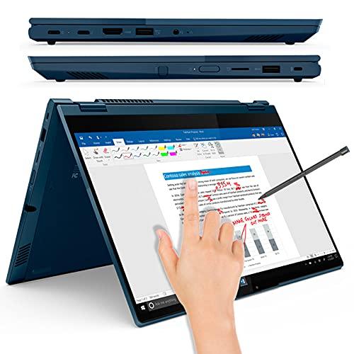 ThinkBook 14s Yoga - Nuevo 14' FHD IPS 300nits, Touch | Core i5-1135G7 | 16GB (2x 8GB) | 512GB SSD | Intel Iris Xe Graphics | Win 10 Pro | 1-year Depot | Abyss Blue