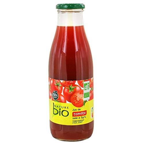 NATURE BIO - Pur Jus Tomate 75Cl - Lot De 4