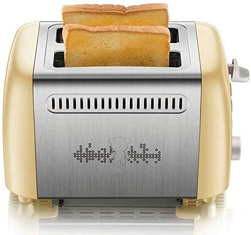 BJCNX Máquina de Pan Máquina de Pan para Desayuno, máquina de Pan de Acero Inoxidable, máquina para Hacer Pan programable con dispensador de Frutos Secos, Bandeja de cerámica Antiadherente, Muy conve