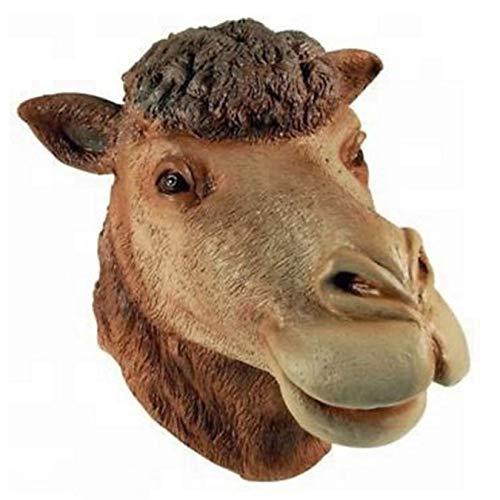 Mscara De Animal De Halloween, Mscara De Camello De Ltex Con Cabeza De Animal De Halloween, Para Mascarada Mscara De Fiesta De Lujo Cosplay, Mscaras De Tema De Animales Realistas