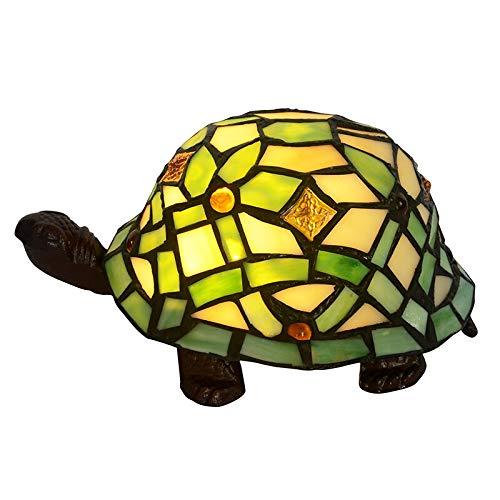 Tischlampe Nachtlampe Lüster Wandleuchte Boden Nachtnachtlicht Schreibtischlampe Schlafzimmer Tiffany Schildkröte verstopfen Nacht Baby-Schlaf-Dekoration-Geschenk Led Atmosphere Tisch Schreibtisch-Lam