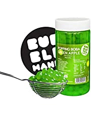 Originele Boba Popping fruitparels voor Bubble Tea Groene appel (450 g)