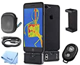 FLIR One Pro LT Pro-Grade Thermal Camera for iOS Smartphones with Accessory Bundle