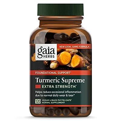 Gaia Herbs, Turmeric Supreme, 120 Veggie Liquid Phyto-Caps from Gaia Herbs