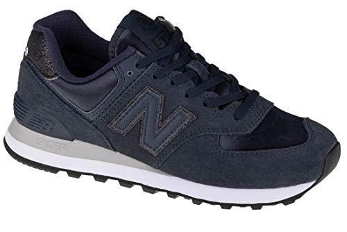 New Balance WL574FA2_36, Zapatillas Mujer, Azul Marino, EU