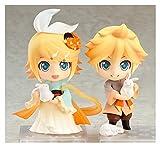 XIAOGING Nuevo 768# Kagamine Rin Anime Vocaloid Hatsune Miku 769# REN len Harvest Moon Rabbit Ver Bunny Decorable Action Figure Toy 10cm