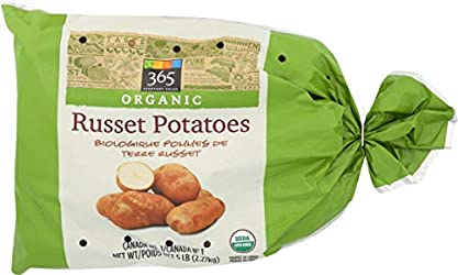 365 Everyday Value, Organic Russet Potatoes, 5 lb Bag