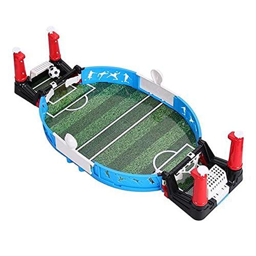 Nicejoy da Tavolo Gioco Calcio, Table Top Football Match Game Kit Mini Bordo di plastica Famiglia Gioco Giochi interattivi per Bar Partito Soccer Fans