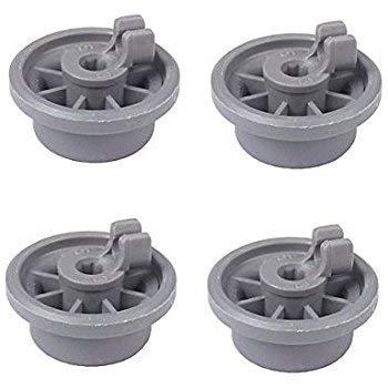 165314inférieur de lave-vaisselle de roue de remplacement pour Bosch Kenmore lave-vaisselle pièces Remplace 420198boîtier et étui 423232par Auko (lot de 4)