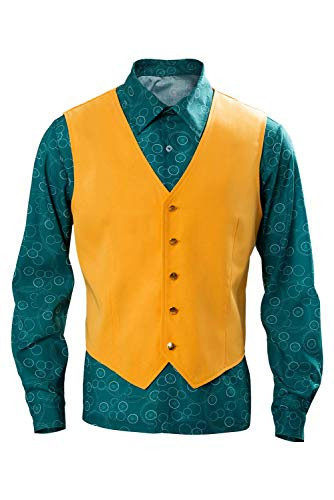 RedJade Joaquin Phoenix Arthur Fleck Hemd mit Weste Cosplay Kostüm Maßanfertigung