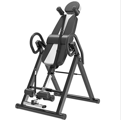 Cheap QAZXSW Gravity Highest Weight Capacity Inversion Table with Optional No Pinch Ankle Holder