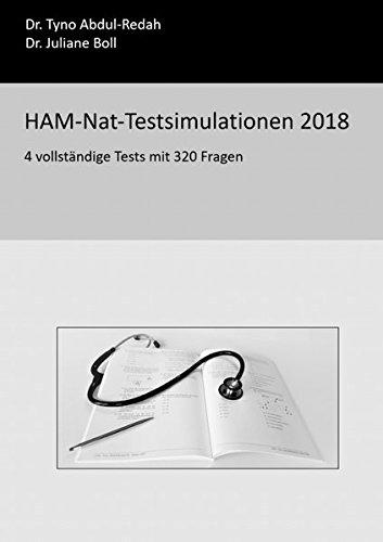 HAM-Nat-Testsimulationen 2018: 4 vollständige Tests mit 320 Fragen