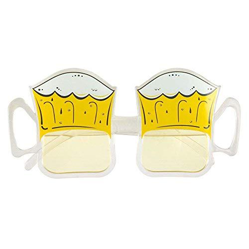 Partidario de cerveza tazas gafas de sol para adultos