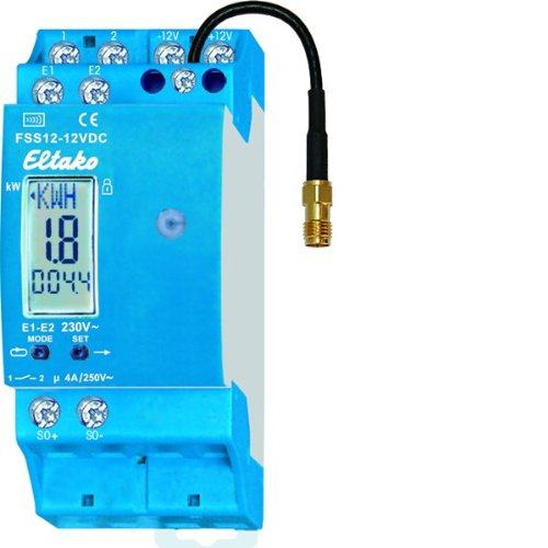 Preisvergleich Produktbild Eltako FSS12-12VDC Funk-Stromzähler-Sendemodul