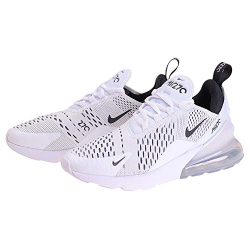 Nike W Air Max 270, Scarpe Running Donna, White/Black/White 100, 38 EU