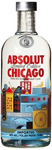 Absolut Vodka Chicago Limited Edition (1 x 0.7 l)