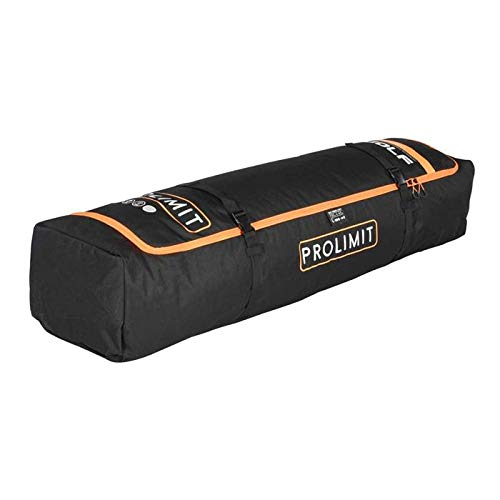 Prolimit Boardbag Surf/Kite Double Black/Orange, negro/naranja, 5´8'
