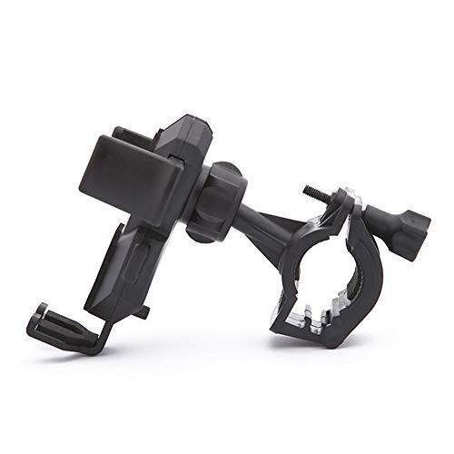 Verloco fiets-telefoonhouder, navigatiehouder voor mobiele telefoon, mountainbike-accessoires, geschikt voor 4,5 tot 7 inch, rubberen mat, stevig en draaibaar