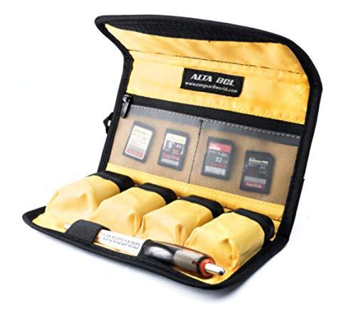 Vanguard Alta BCL - Funda para 4 baterías, memorias y 2 filtros, Talla L