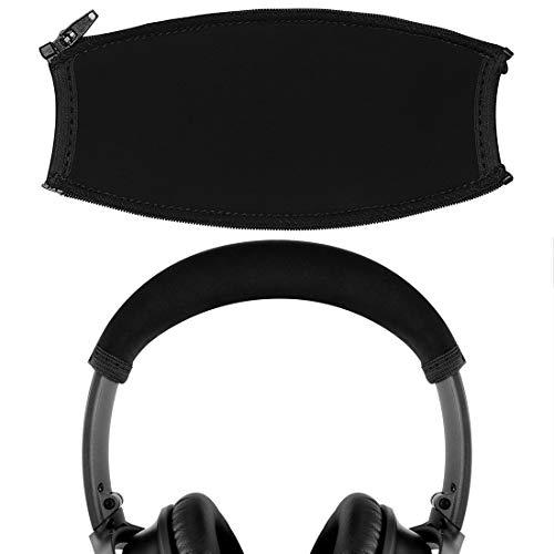 Geekria Headband Cover Compatible with Bose QuietComfort 35 II, QC35, QuietComfort 25, QC25 Headphones/Headband Protector/Headband Cover Cushion Pad Repair Part, Easy DIY Installation