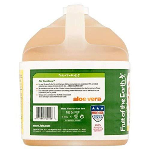 Fruit Of The Earth Aloe Vera, 128 Fluid Ounce (1 Gallon) (4)
