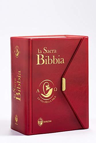 La Sacra Bibbia. La via della pace. Ediz. tascabile con bottoncino rossa