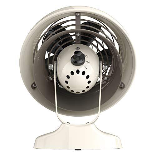 Vornado Vfan Mini Classic Personal Vintage Air Circulator Fan, Vintage White