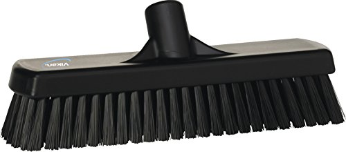 Vikan Wand-Bodenschrubber, 305 mm, hart, black