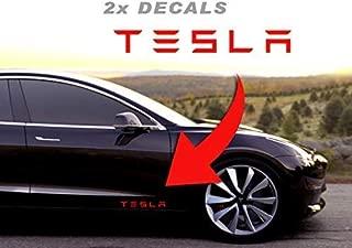 Custom TESLA Vanity License Plate for Model S X 3 P100D P90D P85D 80D 90D 75D 60D