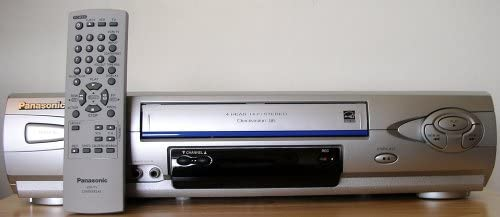 Panasonic 4 Head Hi-Fi VCR -PV-V464S