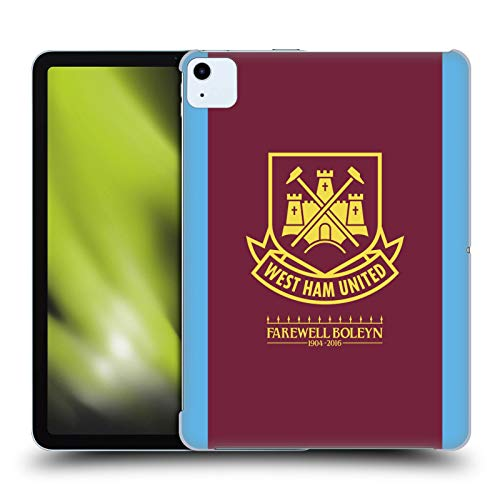 Official West Ham United FC 2015/16 Final Home Retro Crest Hard Back Case Compatible for Apple iPad Air (2020)