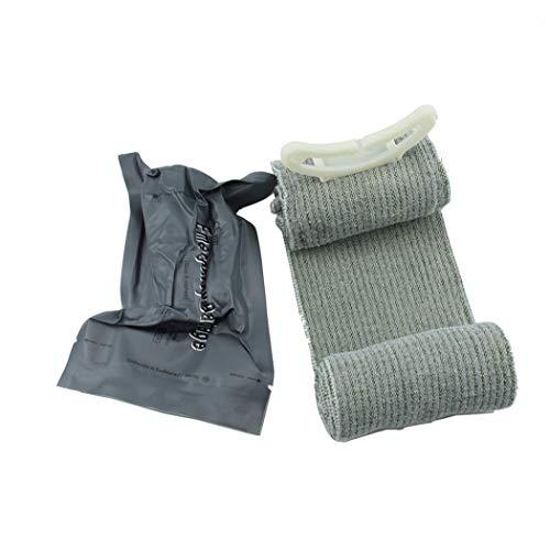 Odoukey 1PC Trauma Bandage israelischen Notfall Bandage Erste-Hilfe-Werkzeug Medizinische Kompressionsbandage Notfall Trauma Bandage für Outdoor-Survival-Battle (4 Zoll) Sommer im Freien