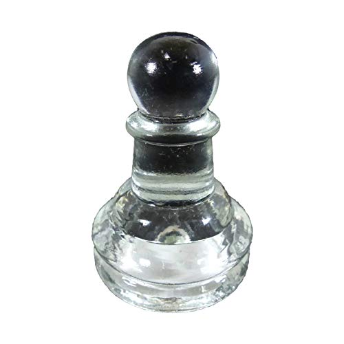 クリスタルチェス クリア 特大 ポーン 駒のみ CP-001 ガラスチェス CHESS チェス 駒