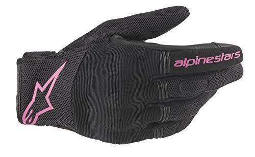 Alpinestars Motorradhandschuhe Stella Copper Gloves Black Fuchsia, BLACK/FUCHSIA, S