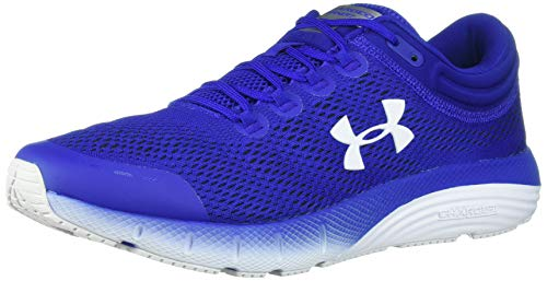 Under Armour Men's Charged Bandit 5 Running Shoe, Royal (401)/White, 10