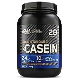 Optimum Nutrition 100% Gold Standard Casein, Protéine de Caséine en Poudre pour Musculation et Prise de Masse, Saveur Chocolat Suprême, 26 Portions, 0,92 kg
