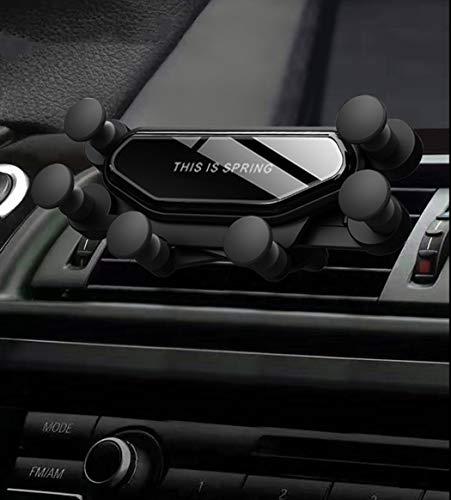 Porta Cellulare gravità Auto,Ttiger Universale gravità Supporto Smartphone da Auto,Adatto per iPhone 11Pro/11/X/8,Samsung Galaxy20/Note20,Huawei,Xiaomi etc