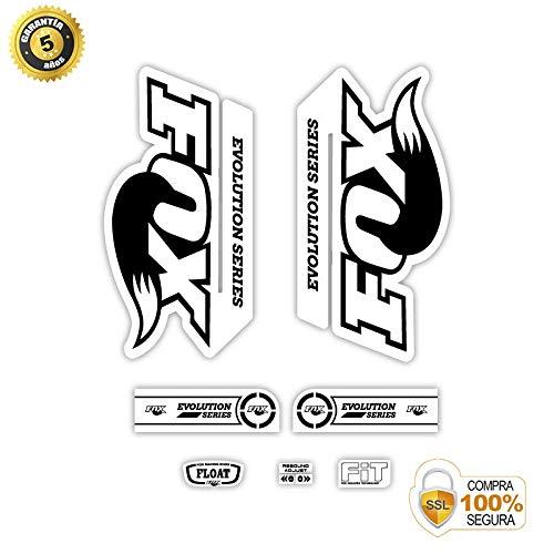 Pegatinas para Bici Sticker Decorativo Bicicleta Juego de Adhesivos en Vinilo para Bici Fox Evolution 29 Pegatinas Horquilla Bici
