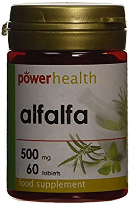 Power Health Alfalfa 500mg - Pack of 60 Tablets by Power Health