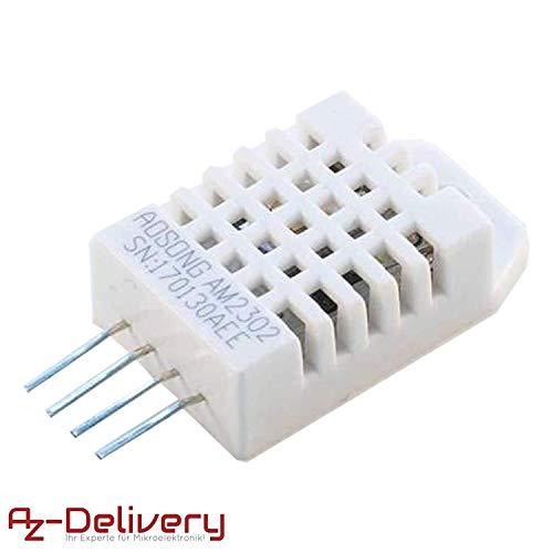 AZDelivery DHT22 AM2302 Temperatursensor und Luftfeuchtigkeitssensor für Arduino