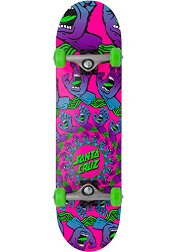 skateboard santa cruz Santa Cruz Skateboard completo Mandala mano rosa/viola/verde 19